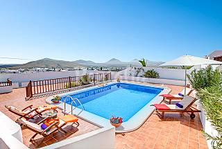 Villa voor 2-6 personen op 8 kilometer van het strand Lanzarote