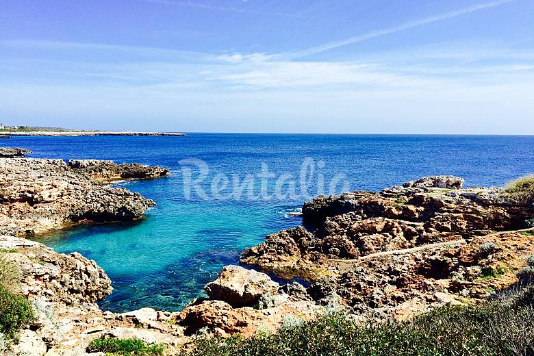 Apartment for rent only 100 meters from the beach Minorca