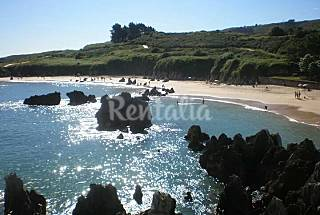Apartment with 2 bedrooms only 1000 meters from the beach Asturias