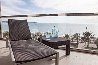 Appartamento per 2-3 persone in prima linea di spiaggia Maiorca