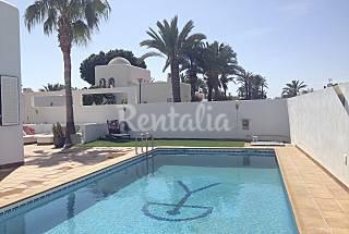 Villa para 8 personas a 40 m de la playa Almería
