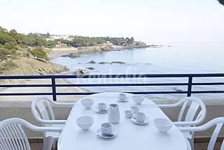 Casa para 8-10 personas en 1a línea de playa Girona/Gerona