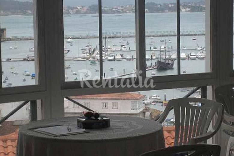 Apartamento 4 personas y estudio para 2 a 300m de playa Pontevedra