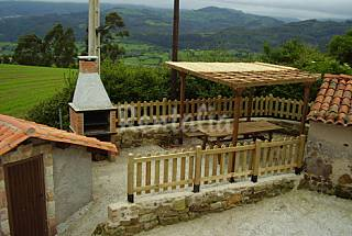 House for 6 people 2 km from the beach Asturias