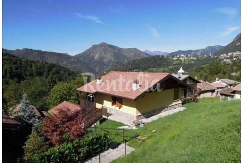 Villa in affitto lombardia costa di serina bergamo for Affitto villa bergamo