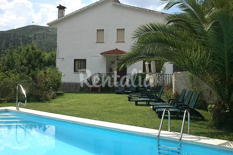 casa independiente con piscina y jard n cuevas del valle