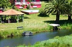 Casa con piscina y río privados. Playa a 700m A Coruña/La Coruña