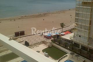 Apartment for rent on the beach front line Valencia