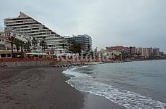 Apartment for 4 people on the beach front line Málaga