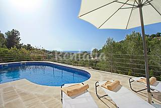 Chalet with private swimming pool for 10 people Majorca