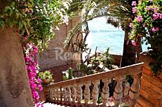 Villa on the beach front line Latina