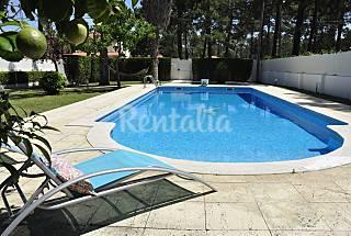 House near the beach / Lisbon 20km,private pool Setúbal