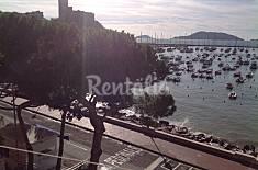 Apartment with 1 bedroom on the beach front line La Spezia