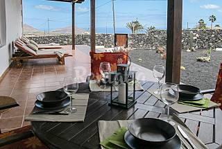 Huis met 2 slaapkamers op 6 kilometer van het strand Lanzarote