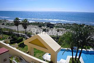 Apartment for rent on the beach front line Málaga