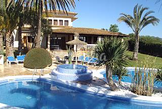 Villa zur Vermeitung, 1000 Meter bis zum Strand Mallorca
