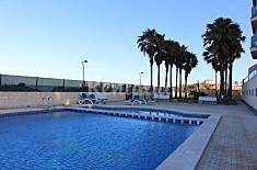 Apartamento para 2-4 personas en 1a línea de playa Murcia
