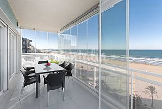 Apartment Arena Suite on the beach front line Valencia