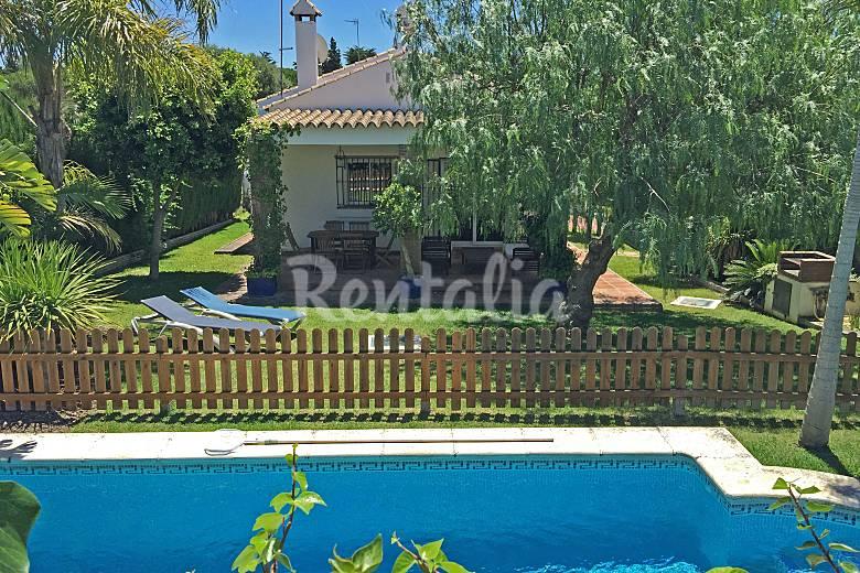 Villa Swimming pool Cádiz Conil de la Frontera villa