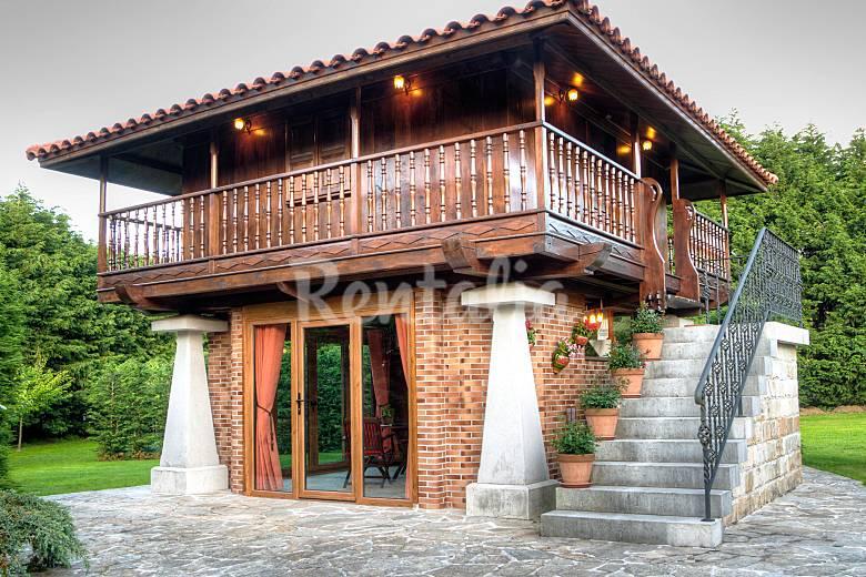 Casa h rreo con jard n privado hazas de cesto cantabria for Casa vivienda jardin pdf