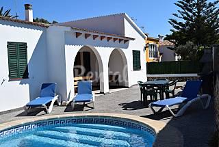 Villa Samba acogedora, tranquila y bien situada    Menorca