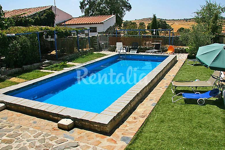 villa pour 13 personnes avec piscine pozoblanco cordoue
