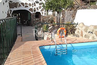 Villa para 4 personas con piscina las arbejas artenara - Villas en gran canaria con piscina ...