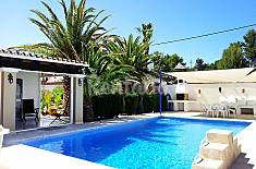 Villa for 6 people only 1500 meters from the beach Ibiza