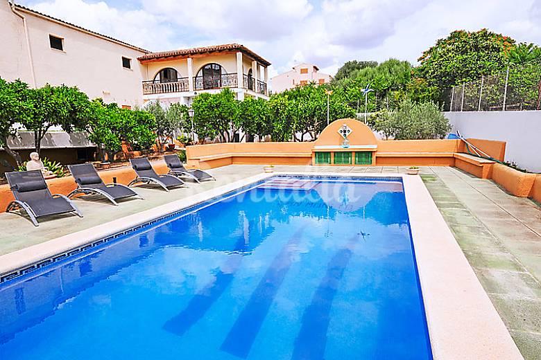 Casa para 4 personas con piscina vilafranca de bonany for Casas con piscina mallorca