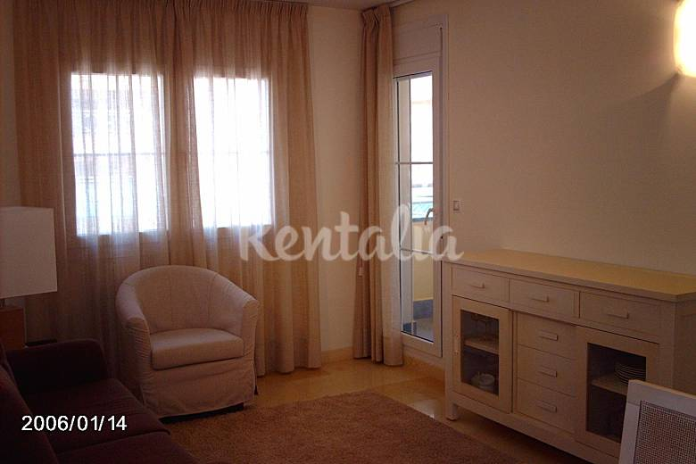 Apartment for 2-4 people only 200 meters from the beach Murcia