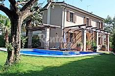 Villa per 6 persone a 1350 m dalla spiaggia Lucca
