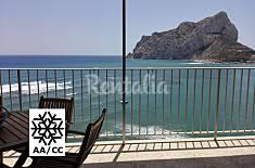 Ático en 1ª línea del mar con vistas al mar Alicante