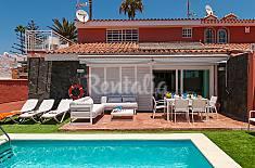 Villa para 10 personas con piscina Almería