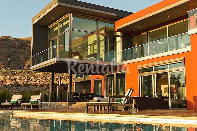 Villa en alquiler con piscina el salobre san bartolom - Villas en gran canaria con piscina ...