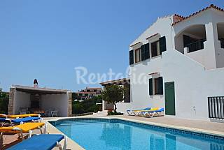 Villa 11 pers.+Piscina +bajada directa Cala Forcat Menorca