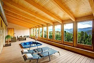 Casa para 18-22 personas con piscina y spa