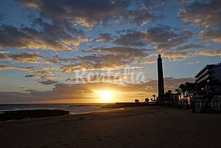 Apartamento a 30 m de la playa de Maspalomas  Gran Canaria