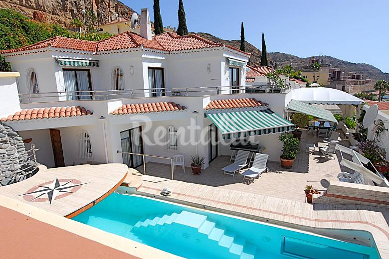 Property Outdoors Gran Canaria Mogán House