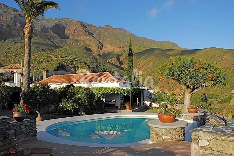4 casas rurales para 2 16 personas con piscina lomito de taidia san bartolom de tirajana - Casa rural 16 personas ...