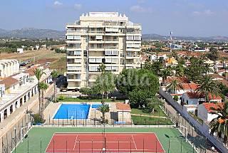 Apartamento para 4-6 personas en 1a línea de playa Castellón