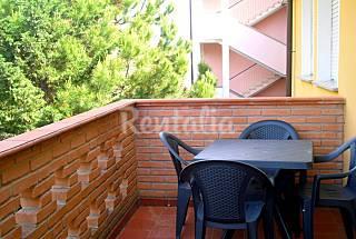 Apartamento de 2 habitaciones a 100 m de la playa Ferrara