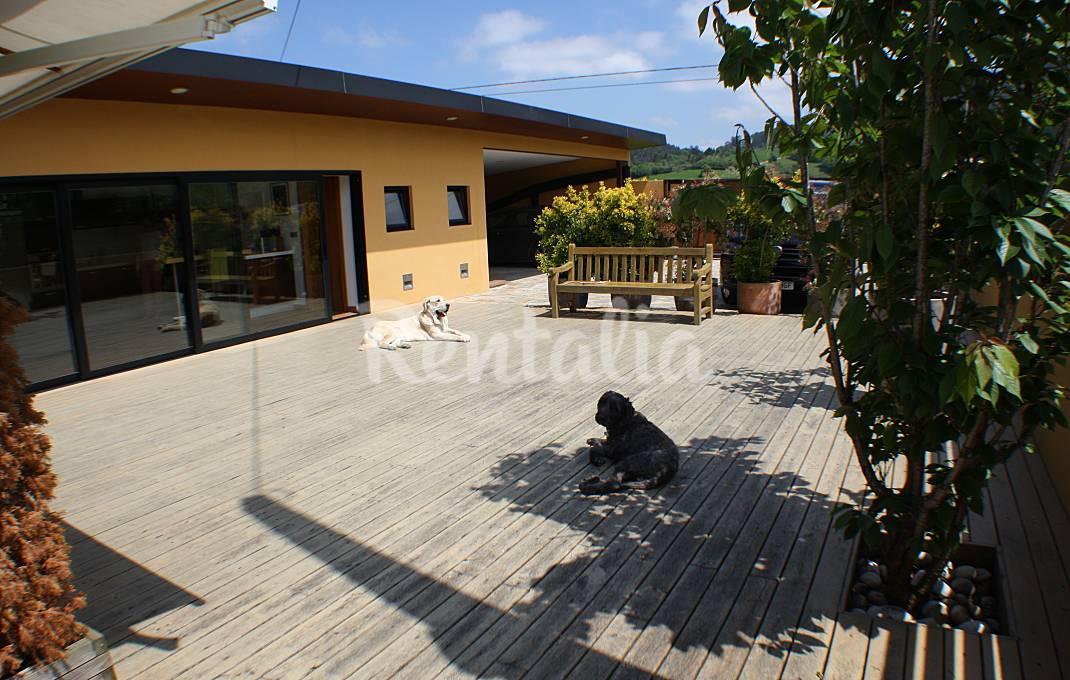 Casa independiente con jardín Cantabria