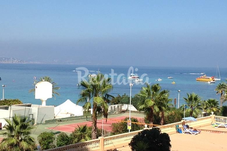 Apartamento en alquiler a 100 m de la playa calpe calp alicante costa blanca - Alquiler de apartamentos en playa ...