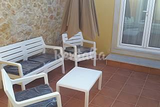Casa com 1 quarto a 100 m da praia Coimbra