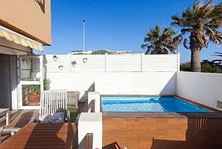 Casa in affitto in prima linea di spiaggia Cadice