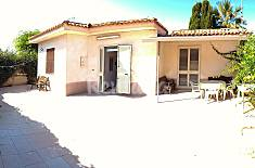 Villa with 2 bedrooms on the beach front line Ragusa