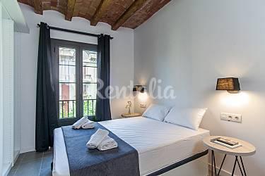 Terraza Habitación Barcelona Barcelona Apartamento