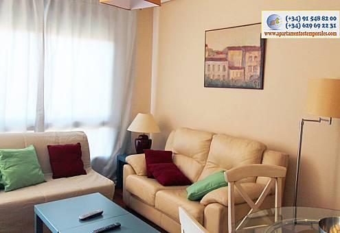 Plaza castilla luz apartamentos garaje Madrid