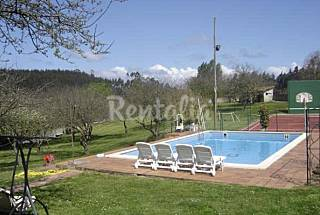 Villa for 12-16 people only 700 meters from the beach Asturias