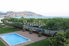 2 hab.en primera línea con piscina,wi-fi y parking Girona/Gerona
